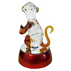 Monkey Glass Figurine