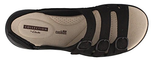 CLARKS Womens Saylie Quartz Sandal Black UH9hP095Wa