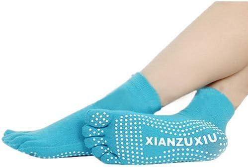 uyhghjhb Women Non-slip Five-finger Socks Yoga Gym Dance Sport Exercise Massage Fitness Warm Socks