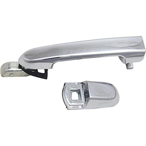 Evan-Fischer EVA18772041402 Door Handle for 2006-2011 Hyundai Accent GLS 1.6L Rear Right Side Exterior Plastic (Hyundai Accent Gls)