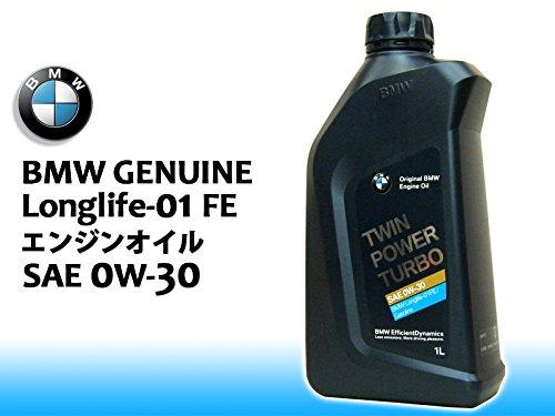 BMW 純正エンジンオイル 0W-30/0W30 Longlife-01FE/ロングライフ-01FE 1L缶x12本 B0107SFPS6