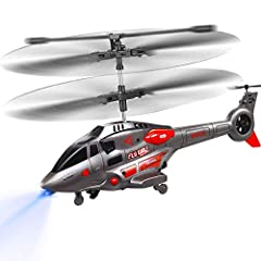 Benefits Easy to control Built-in great Gyro technology and equipped with tail rotor motor, which is used to stabilize the helicopter's heading, leads to great performance in stablize the direction. With LED Light makes the rc helicopter easy...