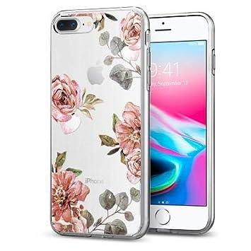 c8720154de 【Spigen】 スマホケース iPhone8 Plus ケース / iPhone7 Plus ケース 対応 TPU 超薄型