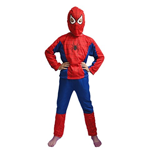 Super Dress Costumes Fancy (Halloween Superhero Costumes for Boys Spider-Man Child's Fancy Dress Party)