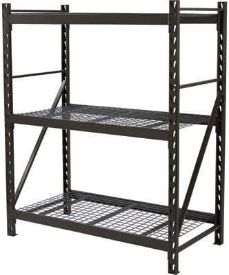 Strongway Steel Shelving 3 Shelves 60in.W x 30in.D x 72in.H