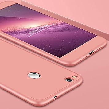 Funda Huawei Honor 8 Lite con Cristal Templado, AChris 3 en 1 Hard Caja Caso Skin Case Cover Carcasa Ultra Fina Anti-rasguños Choque Resistente Case ...
