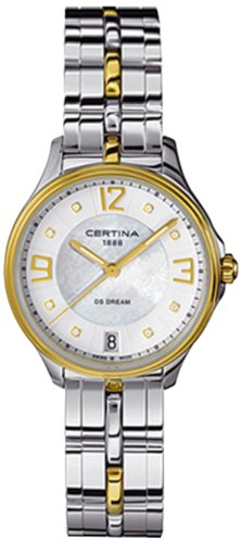 Certina - Wristwatch, Analog Quartz, Stainless Steel, Woman 4