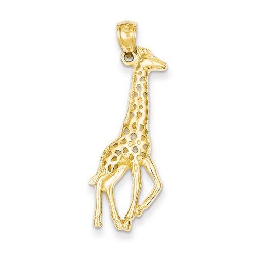 Icecarats Créatrice De Bijoux 14K Pendentif Girafe