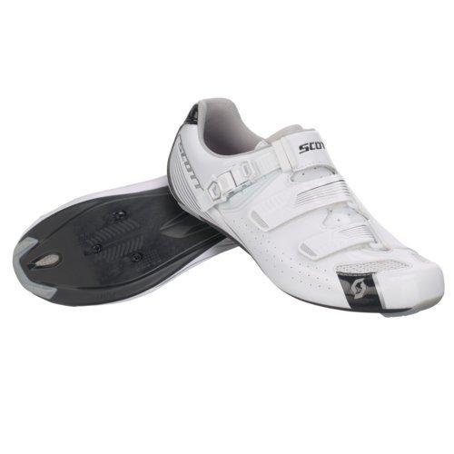 Scarpe Taglia Road Lucido Bianco Colore nero Scott 42 Pro q0RAxqd