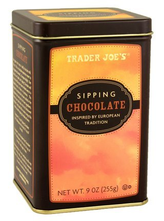 Trader Joe's Sipping Chocolate Inspired by European Tradition 9 oz. (Pack of 2)