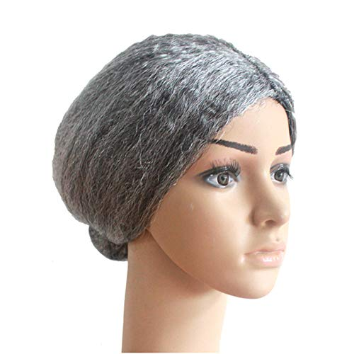Props Wig Creative Old Lady Cosplay Wear Gray Halloween Party Performance Props Wig diy Accessories Headwear