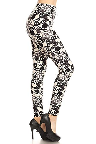 S604-3X5X Toxic Pops Print Fashion Leggings -