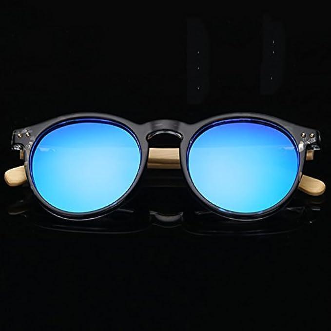 Sole Occhiali Hgyanjing colore Moda Da Brillante Modo Colore Caldo Conducente Guida Specchio B Pesca