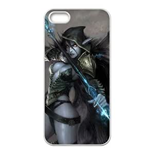 iPhone 5 5s Cell Phone Case White Defense Of The Ancients Dota 2 DROW RANGER Fbxva