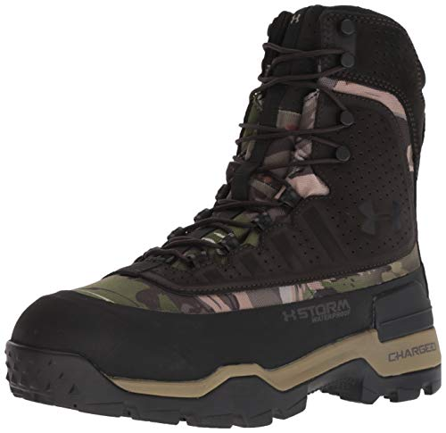 Under Armour Men's Brow Tine 2.0-800G Ankle Boot, Ridge Reaper Camo Fo (900)/Cannon, 10.5 M US ()