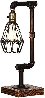 HWZQHJY Lámparas decorativas de escritorio Iluminación Loft ...