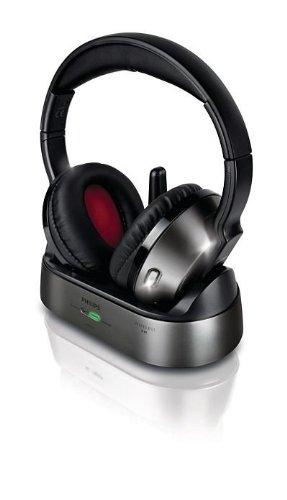 Philips - Auriculares (Circumaural, Diadema, Inalámbrico, 10-22000 Hz, Negro, Plata): Amazon.es: Electrónica