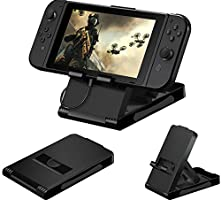Nintendo Switch Playstand With Tampered Glass Protector