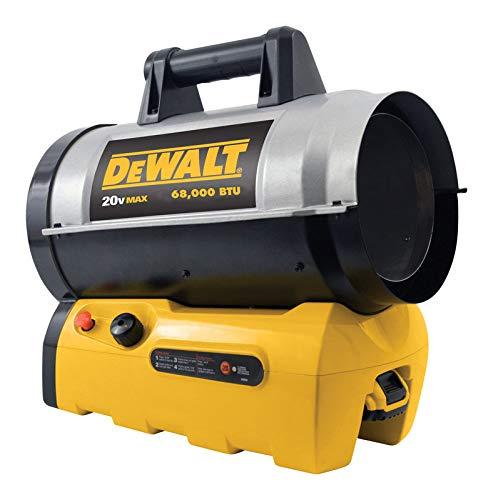 DeWalt 70,000 BTU Industrial Jobsite Portable Cordless Force