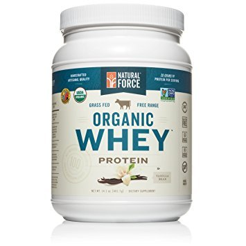 Natural Force® Organic Whey Protein Powder *RANKED #1 BEST TASTING* Grass Fed Whey