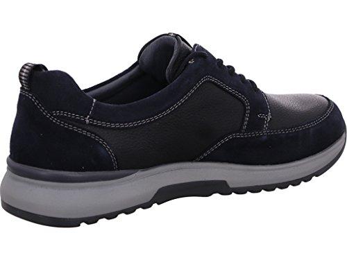 Waldläufer Ville deepblue Pour Chaussures à Homme Lacets ocean de XwRqXrcE0