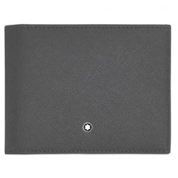Amazon.com: Montblanc 116329 portafolios 4 CC con clip de ...