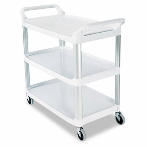 (RCP4091CRE - Rubbermaid-Cream X Tra Three Shelf Utility Cart, Open All Sides)
