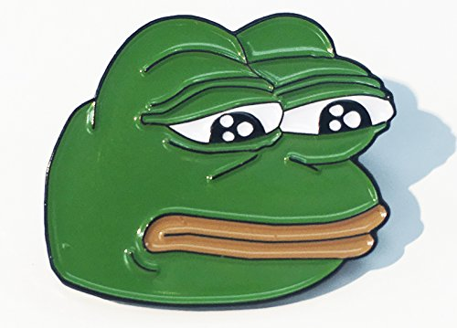 - Sad Pepe 4Chan Dank Rare Pepes Enamel Lapel Pin