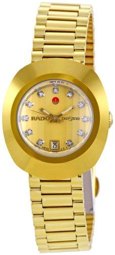 Rado Women's R12416633 Original Diastar Champagne Dial Watch