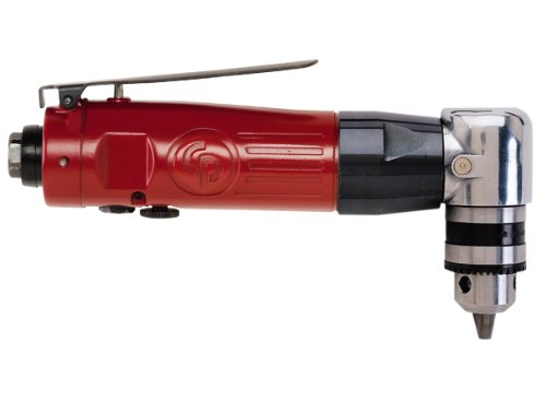 Chicago Pneumatic CP879 3/8-Inch Chuck Air Reversible Angle Drill (Chicago Pneumatic 0.375 Inch Drill)