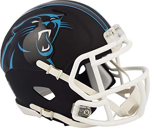 - Carolina Panthers NFL Black Matte Alternate Speed Mini Football Helmet
