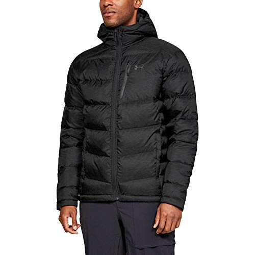 Under Armour Men's Sweater Hooded Jacket, Black, Medium from Under Armour