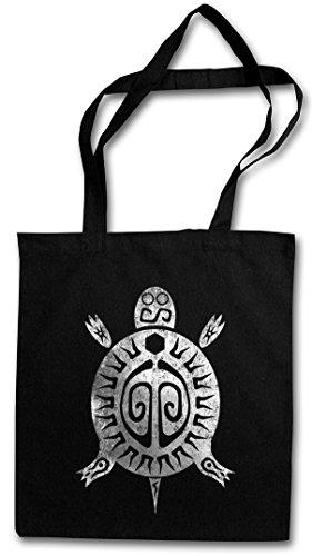 AZTEC TURTLE Hipster Bag Beutel Stofftasche Einkaufstasche