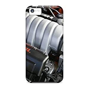 MMZ DIY PHONE CASESlim Fit Tpu Protector Shock Absorbent Bumper Dodge Hemi 6 1l Engine Case For iphone 6 plus 5.5 inch