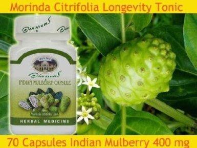 70 Капсулы Индийский Mulberry Morinda Citrifolia Стаж Травяные Антиоксидант