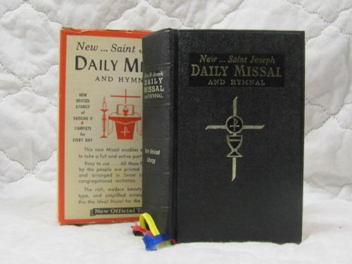 (New Saint Joseph Daily Missal and Hymnal. The Official Prayers for the Celebration of Daily Mass)