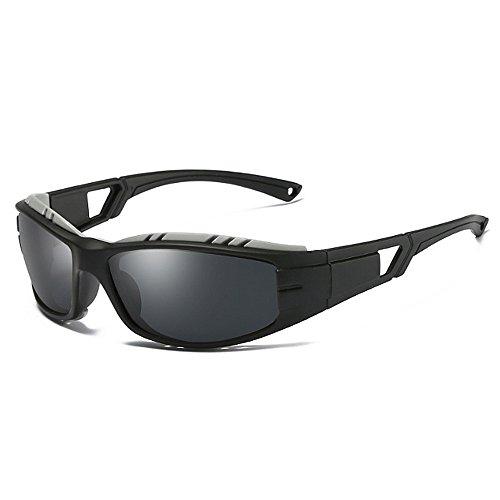 Gafas De Sol Color De Gafas de Sol Polarizadas Prueba KTYX Sol Gafas De Gafas Viento Gafas De A Amarillo Black De Sol Montar 5pRRxwPOqg