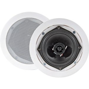"""5.25"""" Ceiling Wall Mount Speakers - Pair of 2-Way Midbass"""