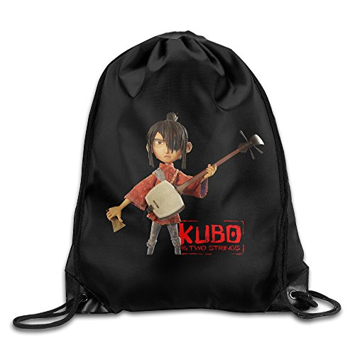 Jasoo Kubo And The Two Strings Girl Backpack Leisure Size Size Key White.