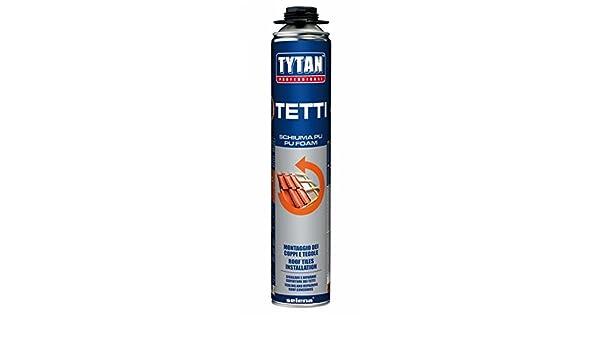 Espuma Tejado para pistola Tytan profesional B3 - Casquillo para Poliuretano pistola 750 ml. X 12 PZI: Amazon.es: Bricolaje y herramientas