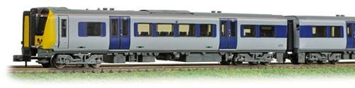 Class 350/1Desiro 4 Car EMU 350 111 'Apollo' Silv by Graham Farish