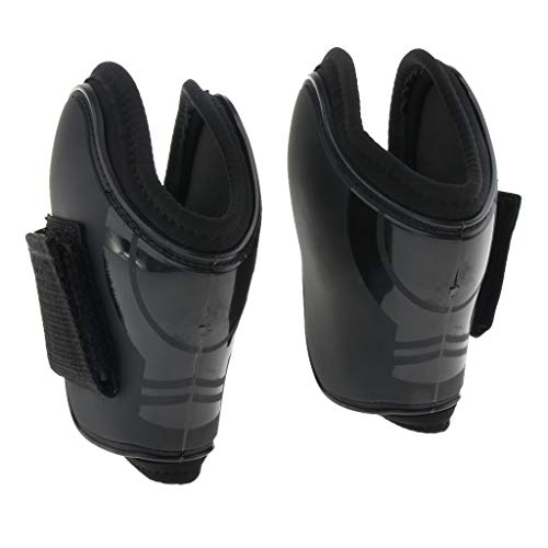 SM SunniMix Horse Pony Exercise Show Jumping Fetlock Boots, Neoprene Padded Hind Splint Boot - - Fetlock Boots Neoprene