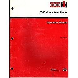 SEPT 1987 IH CASE 8350 MOWER CONDITIONER Rac 9-13340 OPERATORS MANUAL (244)