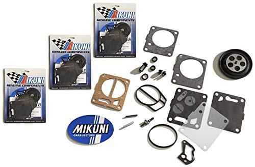 Genuine Mikuni Triple Carb Carburetor Rebuild Kit Yamaha GP GPR XL XLT 1200
