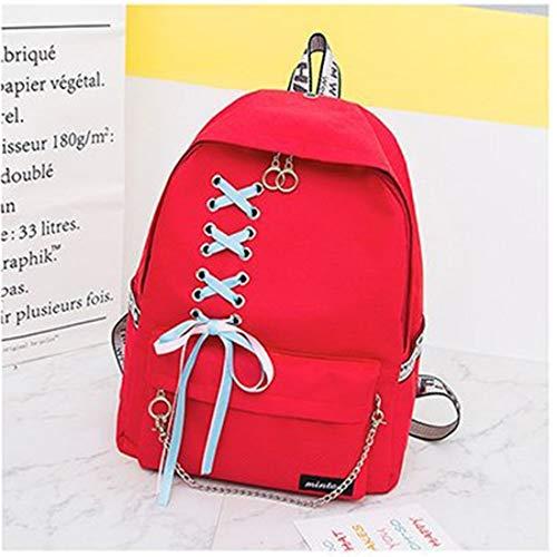 Secundaria color Gran Estudiante Cadena Red Red2 Escuela Capacidad Zackback Viaje De Jakiload Moda Mochila Cinta Diario 8qOpAv
