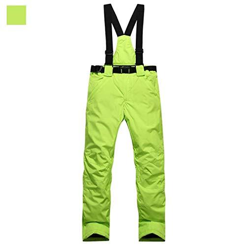 Fuweiencore colore Bright Da Powder Idrorepellenti Dimensione Staccabile Utensili S Verde Vita Regolabile Donna Cucina Pantaloni Tuta Sci rRrqpwP