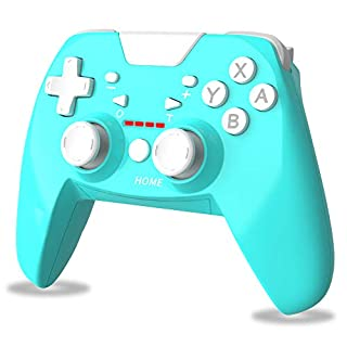 Wireless Controller for Nintendo Switch, RegeMoudal Switch Controller Gamepad Remote Gamepad Joystick, Turquoise