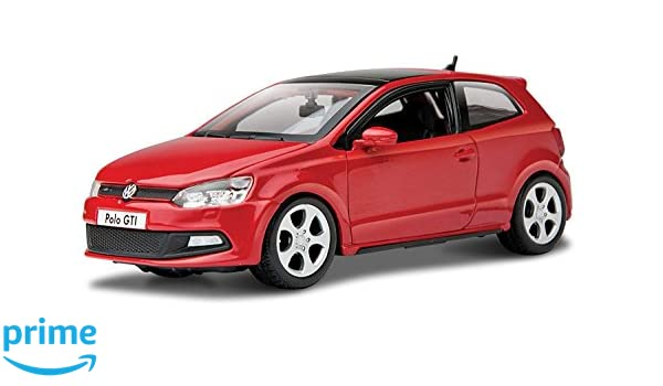 Tavitoys, VW Polo GTI Mark 5 Rojo (18-21059R), Color (1): Amazon ...
