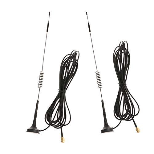 D DOLITY 2Piece 12 DBi Externa 4G Antena Hombre Omnidireccional Aé Módem Router 70-2700Mhz