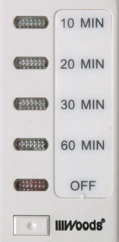 Woods 59008 In-Wall 60-Minute Digital Countdown Timer, White - In Wall  Countdown Timer - Amazon.com | Woods 59008 Timer Wiring Diagram |  | Amazon.com